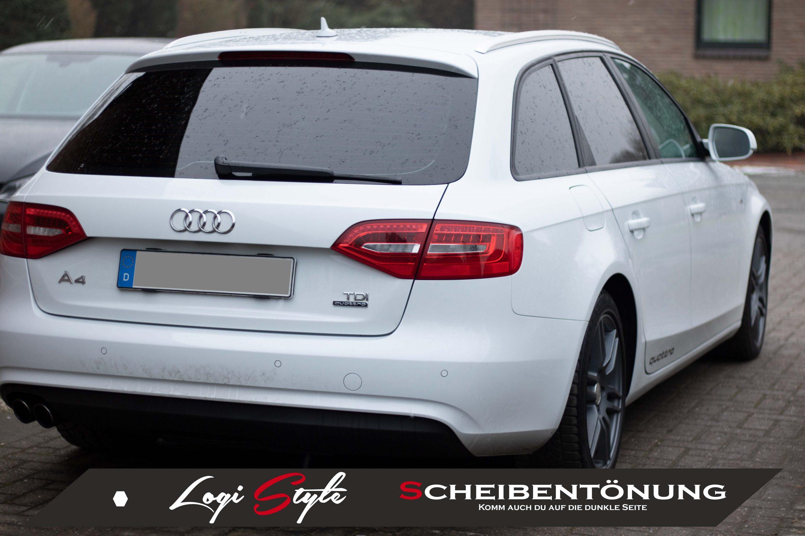 Scheibentönung Audi A4 Avant