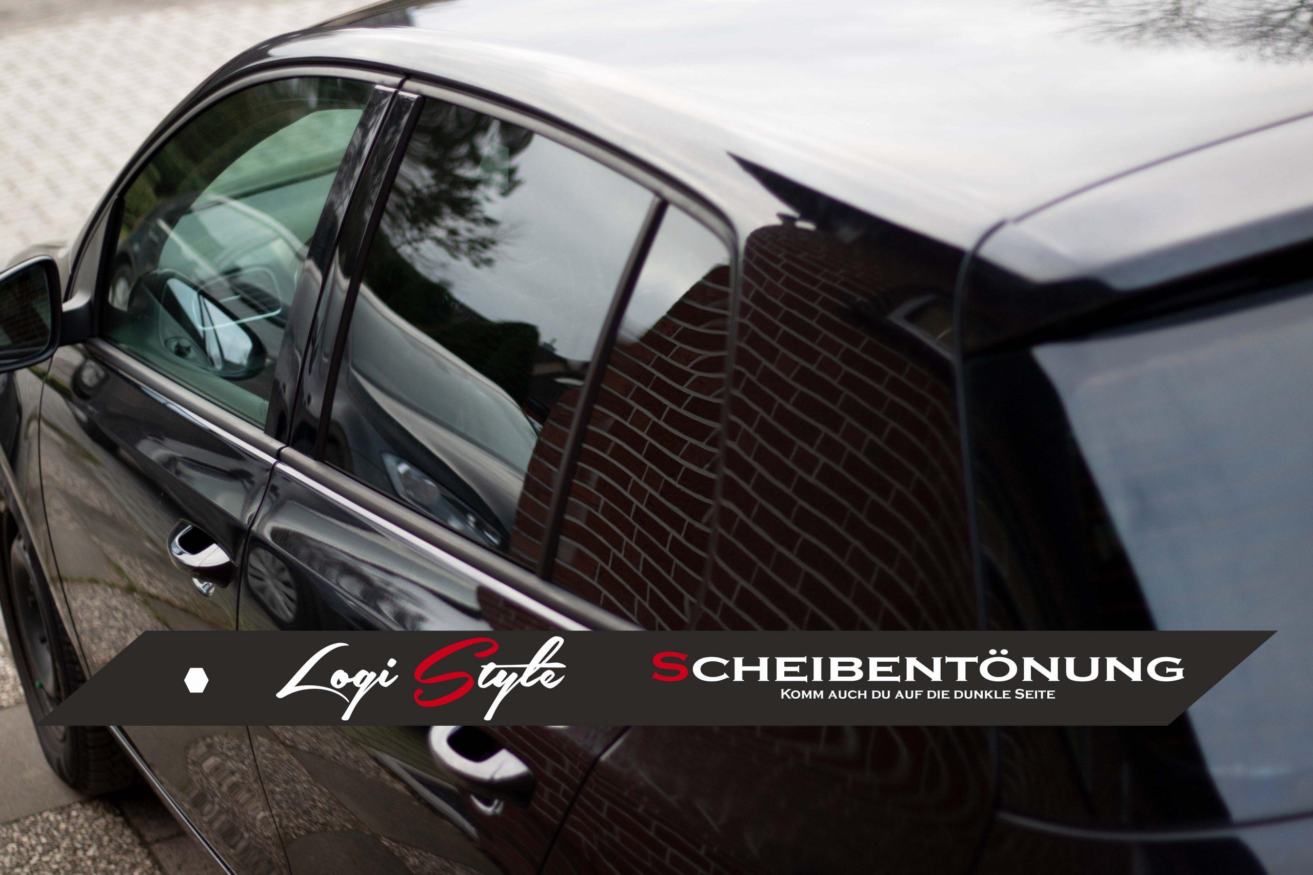 VW Golf 6 Scheibentönung